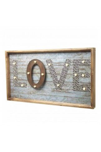 Instantly add that converted shabby chic feel to your home with this gorgeous wooden