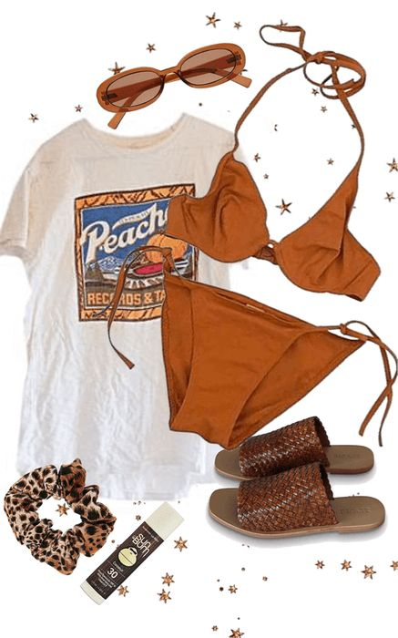 Spring Breakersssss Outfit Shoplook Tropical Spring Summer Break Inspo Outfit
