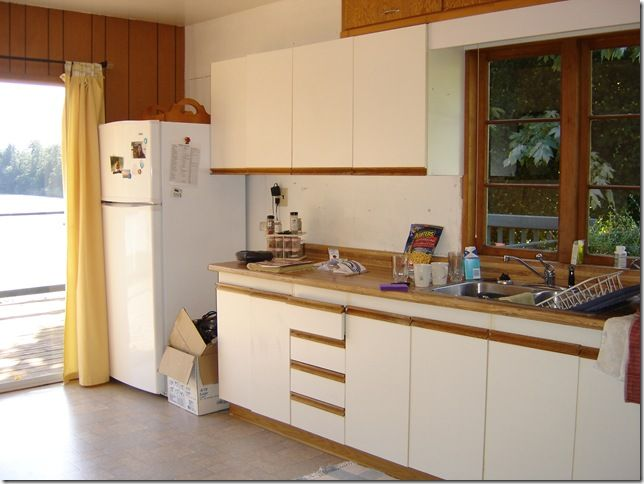 Best 25 laminate cabinet makeover ideas on pinterest for Painting laminate kitchen cabinets ideas