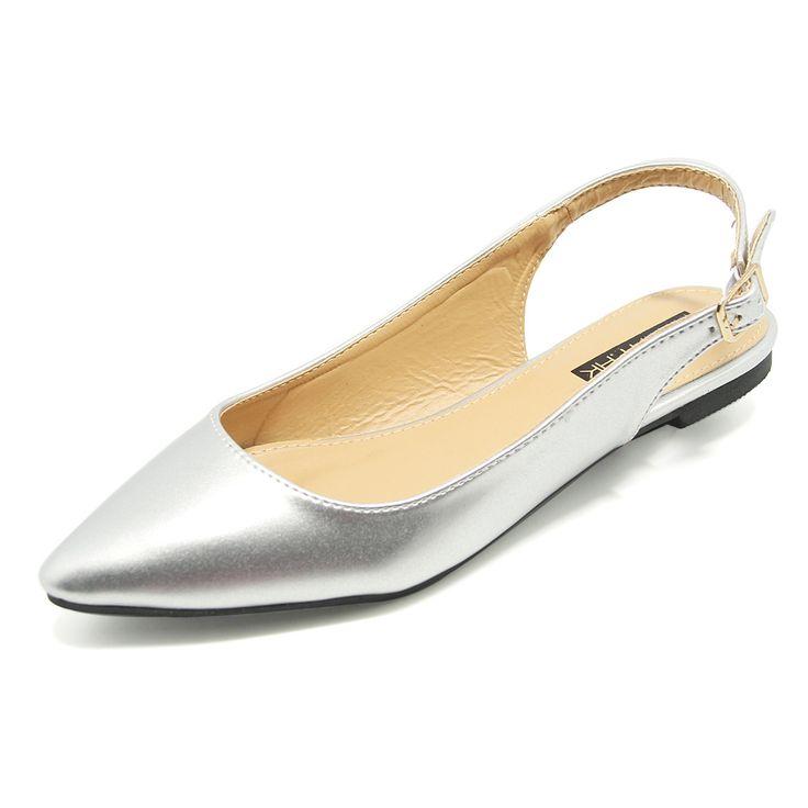 Encontrar Más Pisos de las mujeres Información acerca de Las mujeres señalaron pisos zapatos de ocio transpirable sandalias planas huecos, alta calidad zapatos de crédito, China zapato marco Proveedores, barato la bomba de la sandalia de BC TREND Store en Aliexpress.com