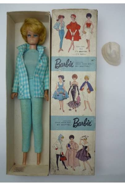 VIntage Barbie 1962 with Box!