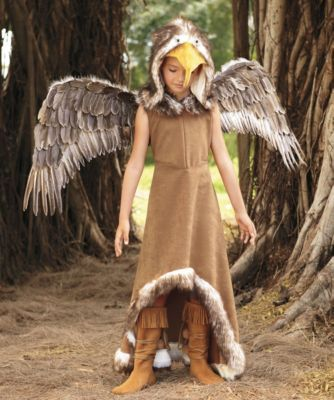 Regal Eagle Costume for Girls | Chasing Fireflies