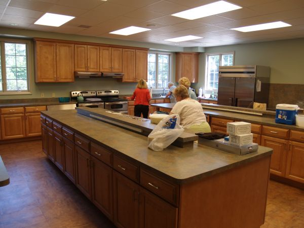 All Saints Kitchen Southern Shores North Carolina Designing Church Kitchens