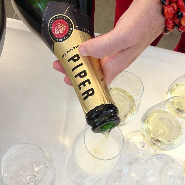 Champagne Piper Heidsieck, une place au frais à chaque #Vinocamp @piper_heidsieck