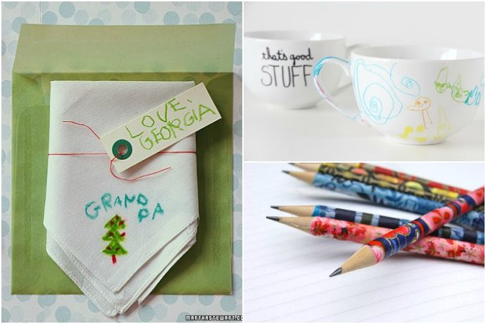 12 of the best tutorials for handmade gifts from kids, to help them make their own presents this holiday season. Because those are our favorite kind.