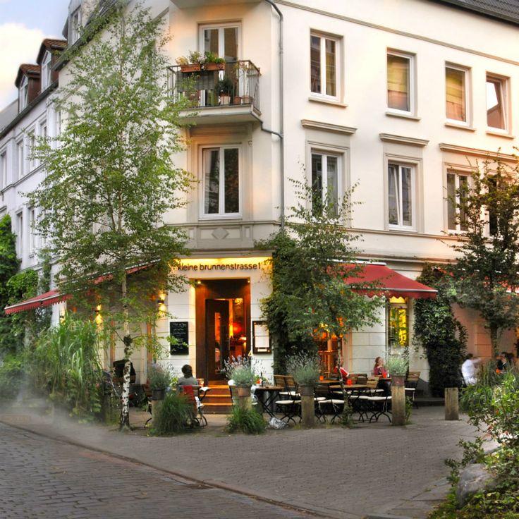Außergwöhnlich gute Küche in der Kleinen Brunnenstraße 1 mit nettem Ambiente   creme hamburg