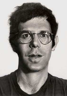 Chuck Close Bob 1969-70 acrylic on gessoed canvas National Gallery of Australia, Canberra Purchased 1975 copyright Chuck Close, courtesy Pace Gallery