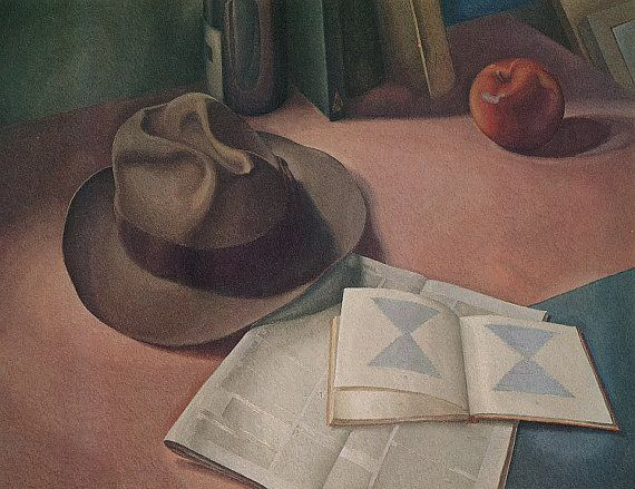 Still Life With Hat Lionel LeMoine Fitzgerald, Canadian Group of Seven