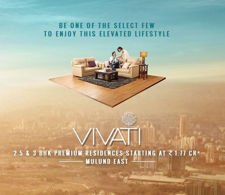 TATA Vivati Mulund East Mumbai - Complete details on TATA Vivati – Premium 2.5 BHK and 3 BHK residences at Mulund East. Exclusive Offer Prices starting at Rs.1.77 Cr - http://tatavivati.com
