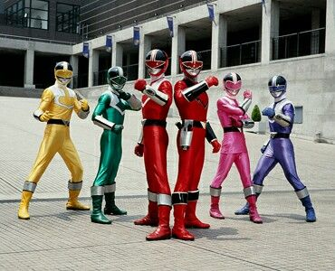 Mirai sentai Timeranger of the Power Rangers Time Force japonesse