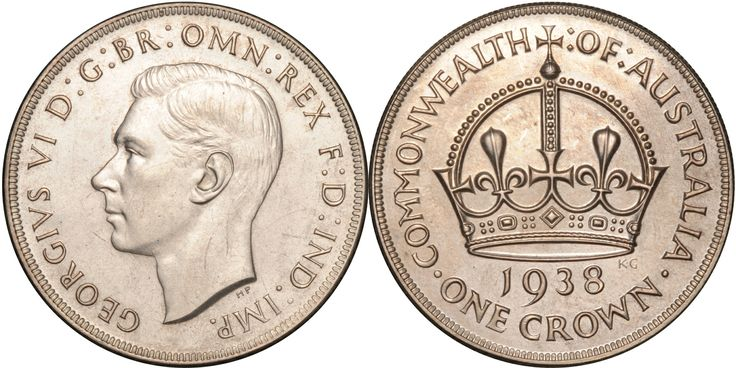 1938 Crown Proof