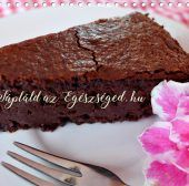 Mennyei Csokoládétorta – Gabonamentes, tejmentes, ha akarod, cukormentes. :)