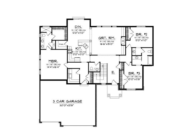 163 best house plans over 1800 sq ft images on pinterest for 1800 sq ft piano piano aperto