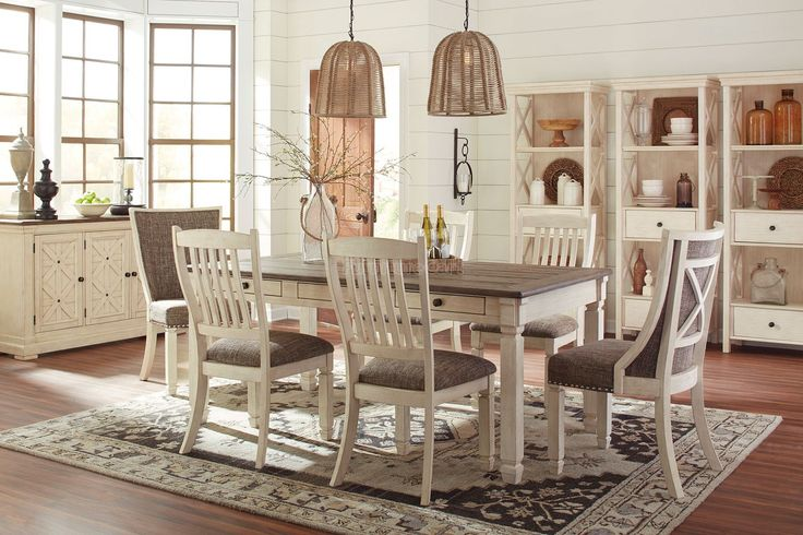 Bolanburg Dining Room Set W Upholstered Chairs Signature Design Furniture