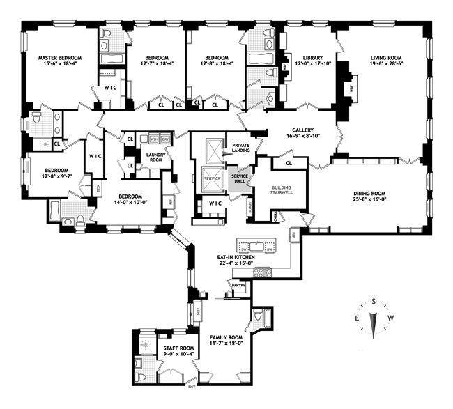 Apartment Building Going Co Op 267 best apartment floorplans images on pinterest | penthouses