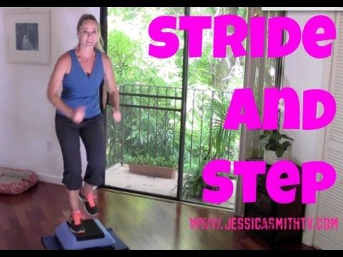 Stride and Step - Full Length 30-Minute Indoor Walking Workout With A Step