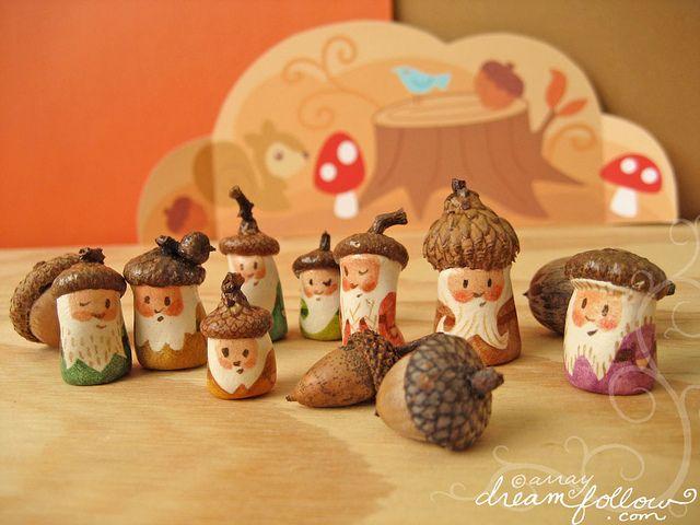 acorn gnomes: acorn gnomes