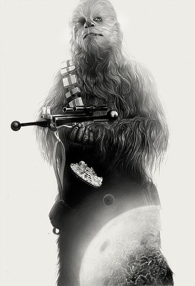 Chewie by Greg Ruth ;-)~❤~