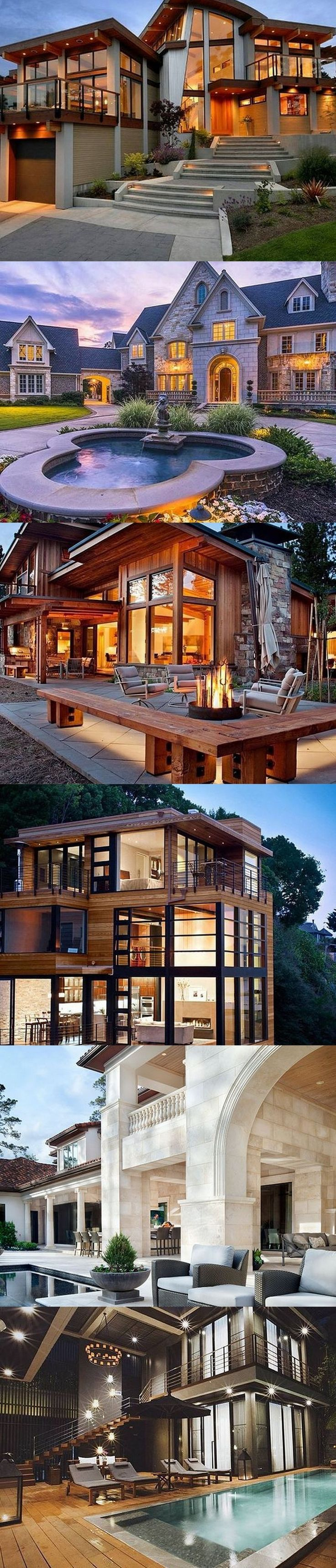 Best 25+ Luxury homes exterior ideas on Pinterest | Nice houses ...