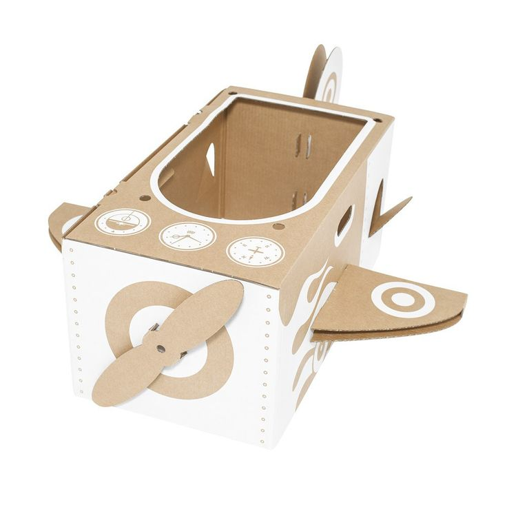 Flatout Frankie Cardboard plane-product
