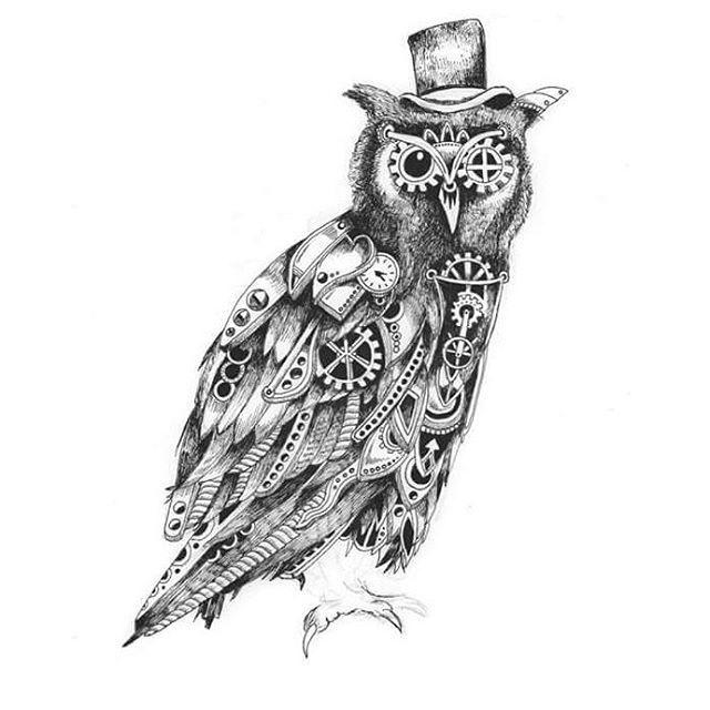 Steampunk Drawing Doodle Art On Instagram In 2019