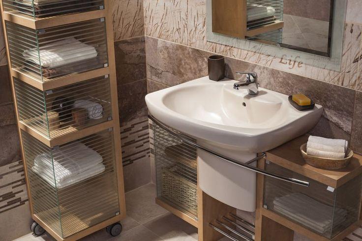 Meble łazienkowe dla miłośników drewna. Zainspiruj się! :-) #design #urządzanie #urząrzaniewnętrz #urządzaniewnętrza #inspiracja #inspiracje #dekoracja #dekoracje #dom #mieszkanie #pokój #aranżacje #aranżacja #aranżacjewnętrz #aranżacjawnętrz #aranżowanie #aranżowaniewnętrz #ozdoby #łazienka #łazienki #meble #drewno