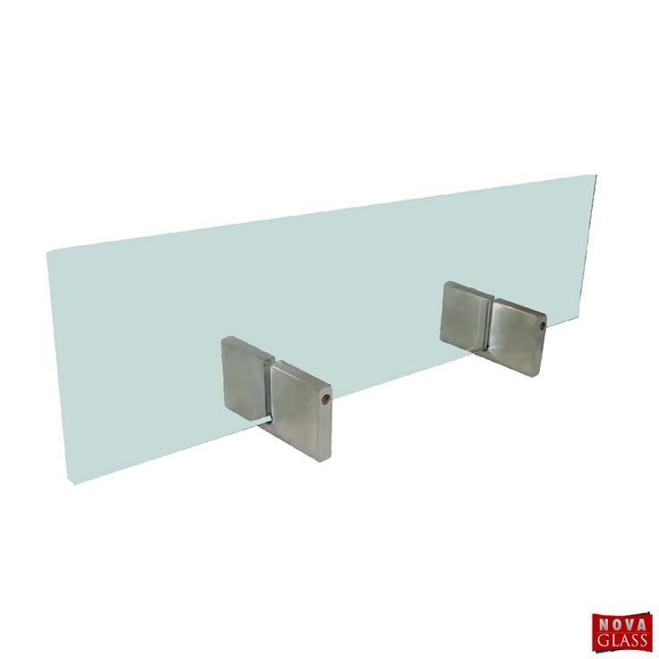 Μεταλλικό στήριγμα για κρύσταλλο τζακιού Κωδ. AL9877 | Nova Glass e-shop