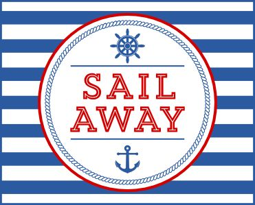 Free Nautical Party Printables and more!
