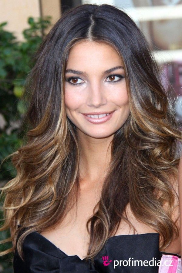 long bob with ombre color   Short Colored Bangs Hairstyle Ideas by Indola for 2012 Spring ... Matt ...