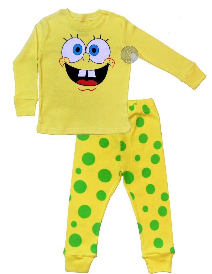 """""""SpongeBob"""" Pajamas"""