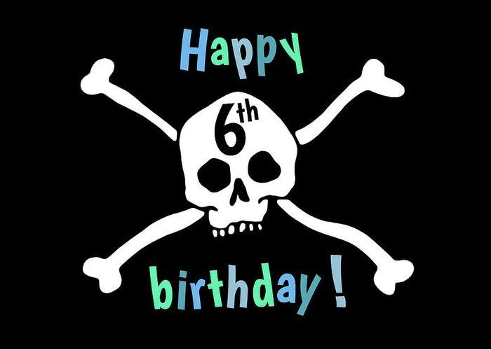 Pirates and birthdays go together ... like mates!