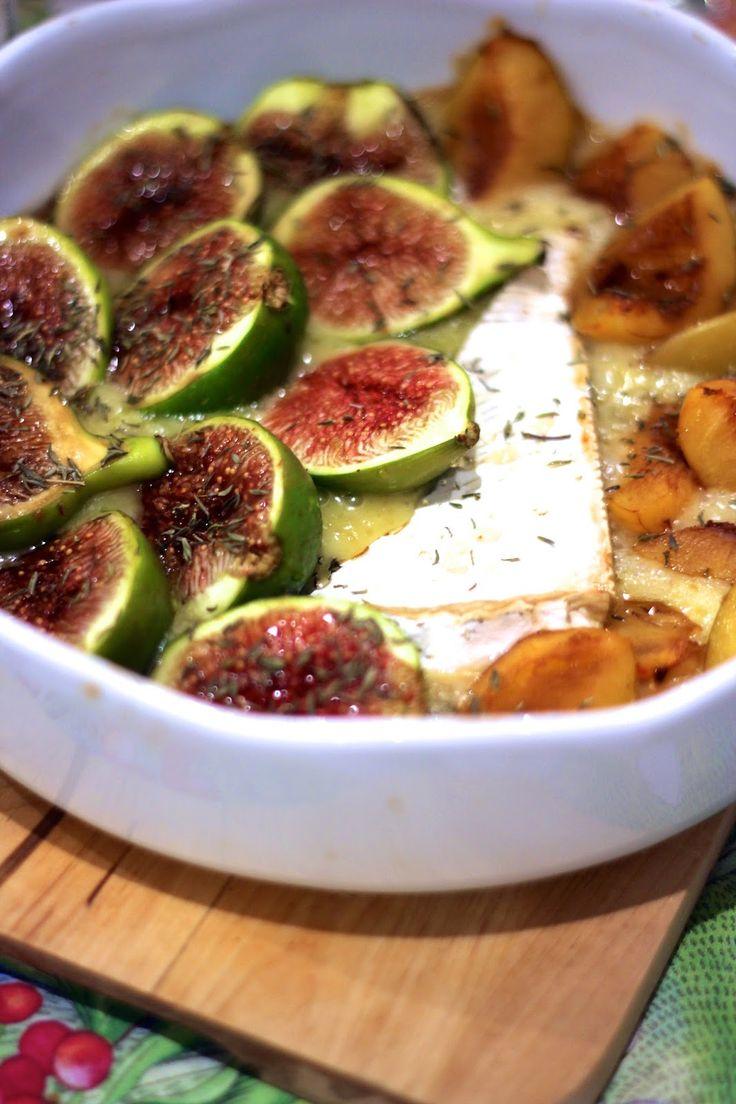 As Minhas Receitas: Queijo Brie com Figos, Ameixas e Mel