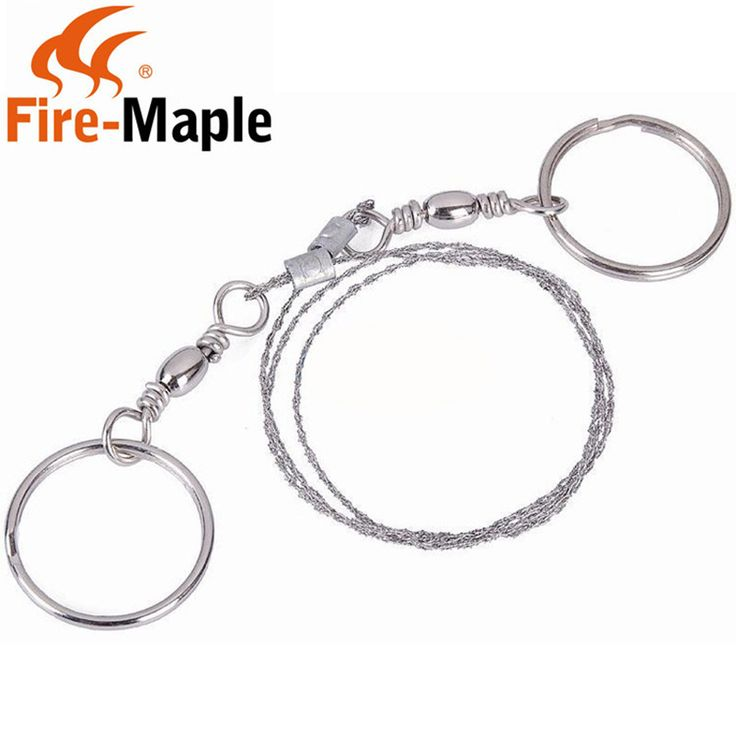 Fire Maple High Strength Steel Wire Fretsaw Camping Hiking Hunting Adventure  Outdoor Survival Necessary Tool Chain Saw FMP-25P #Affiliate