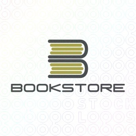 Book logo from www.stocklogos.com    This could be cute with two stacks... the first stack turned the other way for an M and this stack for a B.