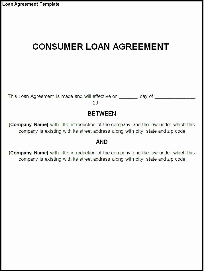Lending Money Contract Template Free In 2020 Contract Template
