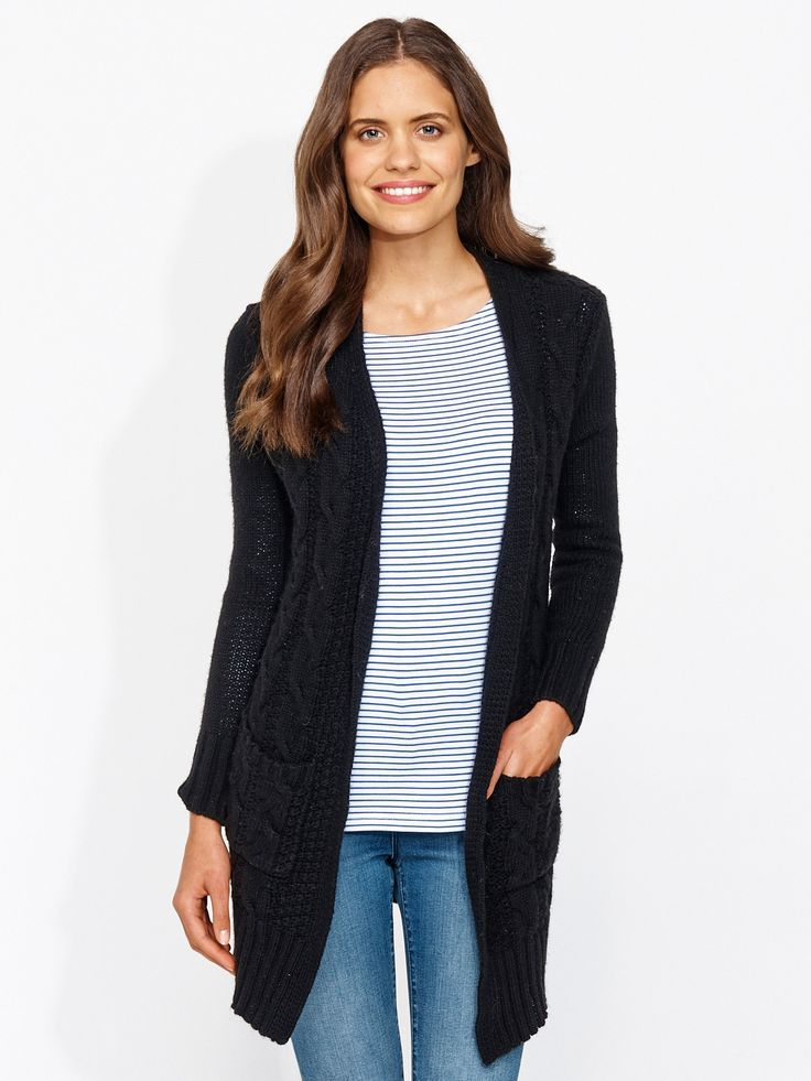 Image for Cable Cosy Cardi from Portmans