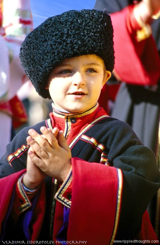 Young Kuban Cossack, southern Russia.