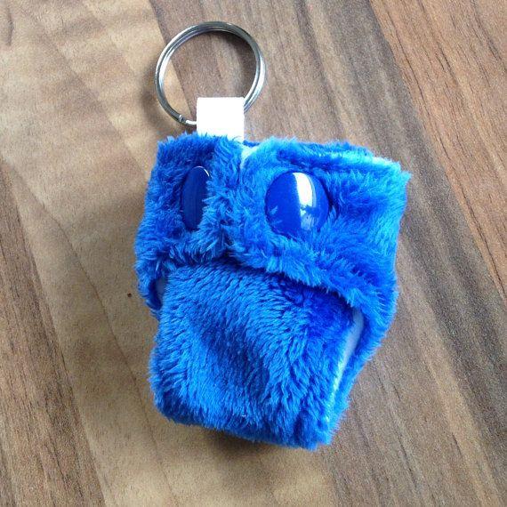 Cloth Nappy Diaper Mini Keyring Keychain Blue Plush Minky Minkee https://www.etsy.com/uk/listing/192200307/cloth-nappy-diaper-mini-keyring-keychain?ref=shop_home_active_3