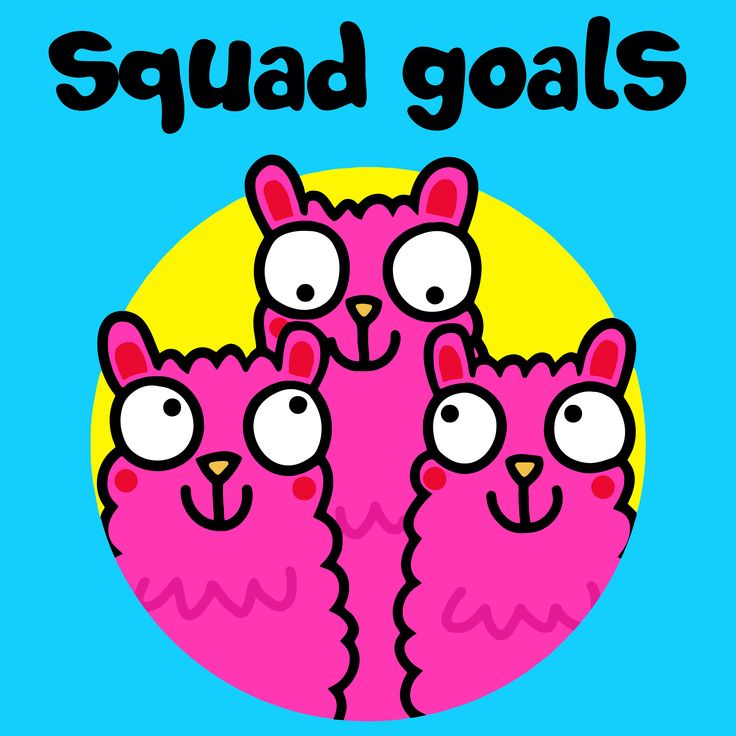 """""""Squad means family and family means no-one gets left behind."""" Tag your squad below! #SquadGoals #FlossyandJim"""