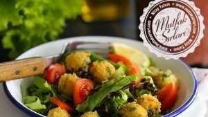 Mozzarella Paneli Yeşil Salata