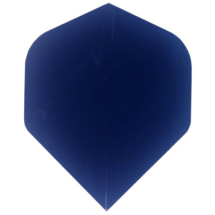 [Visit to Buy] 30 pcs of Flight Pure Blue Dart Flights Darts Dart Flight Accessories Free shipping  R6 #Advertisement