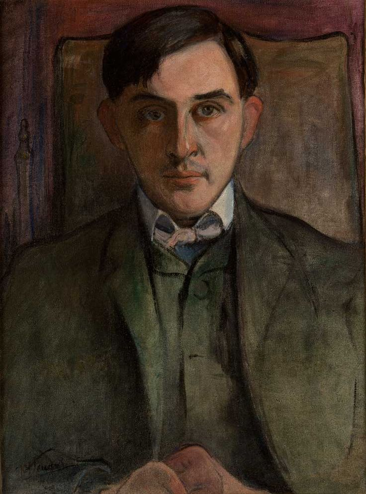 Władysław Ślewiński, Portret Stanisława Ignacego Witkiewicza
