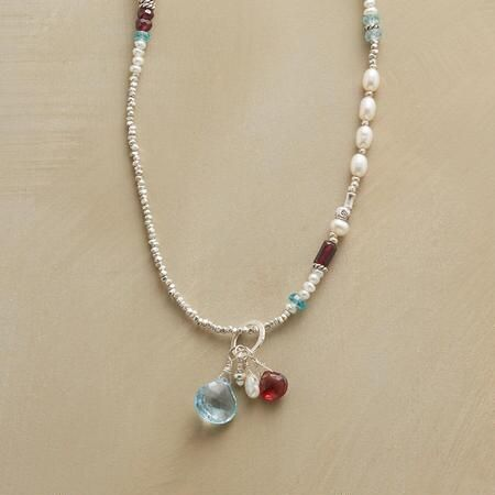 Embers & Ice. Sundance Catalog has this in a necklace (pictured here), as well as earrings & bracelet. Beautiful.