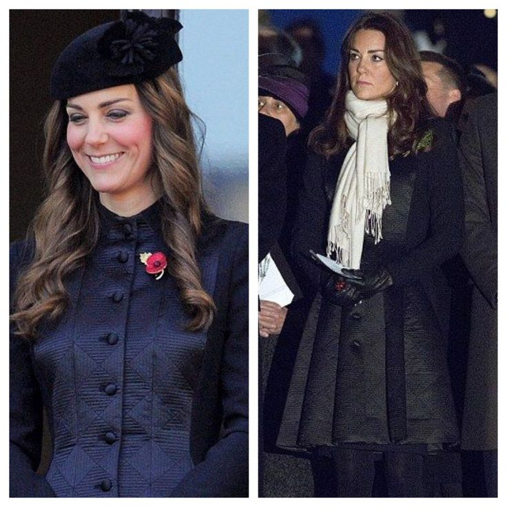 On left 2013 Remembrance Day and again on right in Australia (2014), Temperley London Noa coat