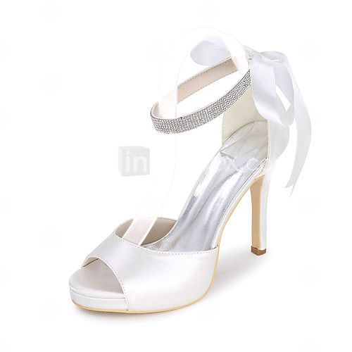 Women's Sandals Spring / Summer / Fall Sandals Satin Wedding / Party & Evening - EUR €35.60 ! HOT Product! A hot product at an incredible low price is now on sale! Come check it out along with other items like this. Get great discounts, earn Rewards and much more each time you shop with us!