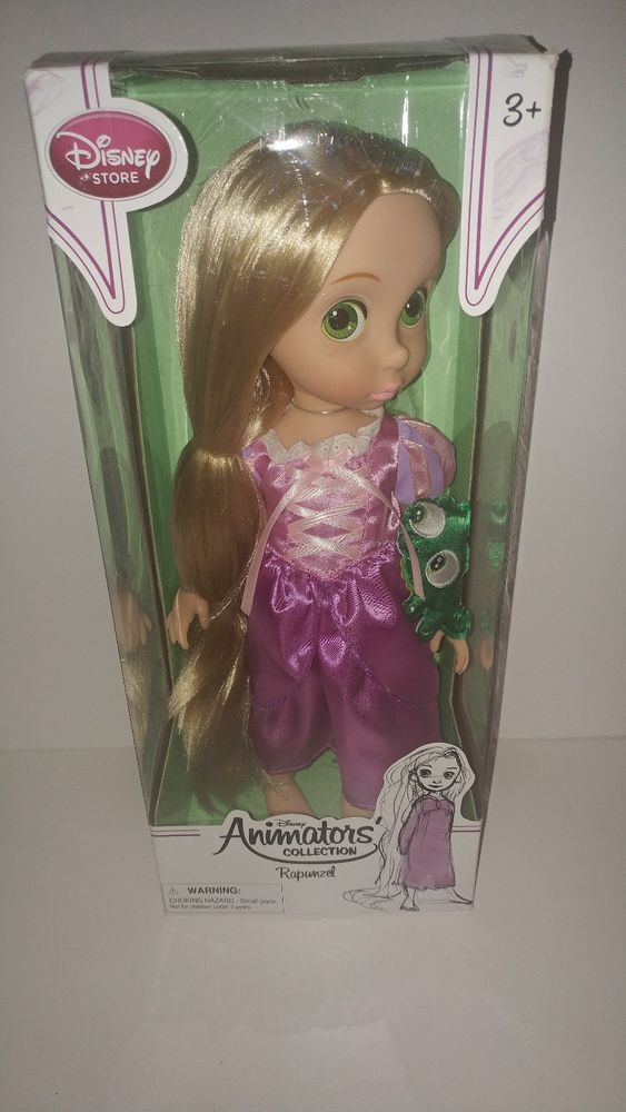 "Disney Store Animators Collection Rapunzel Tangled 16"" Princess Toddler Doll new #Disney #Dolls"