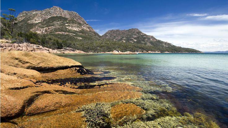Kid friendly beaches, Honeymoon Bay, Tasmania