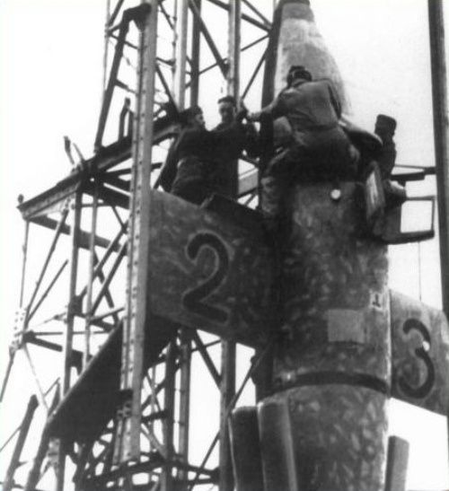 ✠ German WW2 Natter Ba 349B rocket interceptor ✠