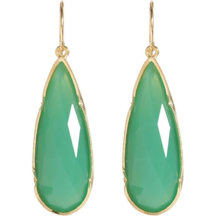 im in love with these!Chrysoprase Teardrop, Irene Neuwirth, Teardrop Earrings, Gemstones Earrings, Tears Drop, Turquoise Earrings, Colors Combinations, Jewelry, Emeralds Rings