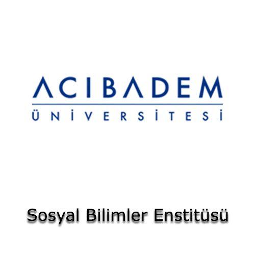 Acıbadem Üniversitesi - Sosyal Bilimler Enstitüsü | Öğrenci Yurdu Arama Platformu